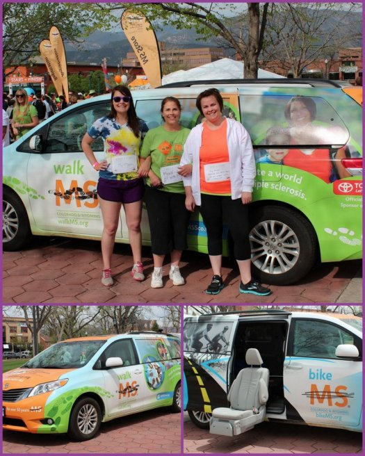 Toyota Walk MS sponsor