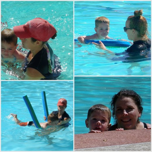 toddler swim lessons