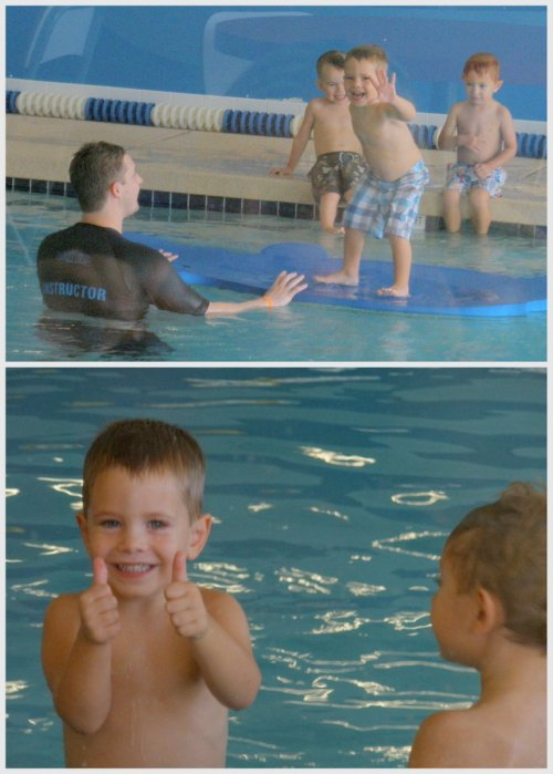 indoor swimming lessons