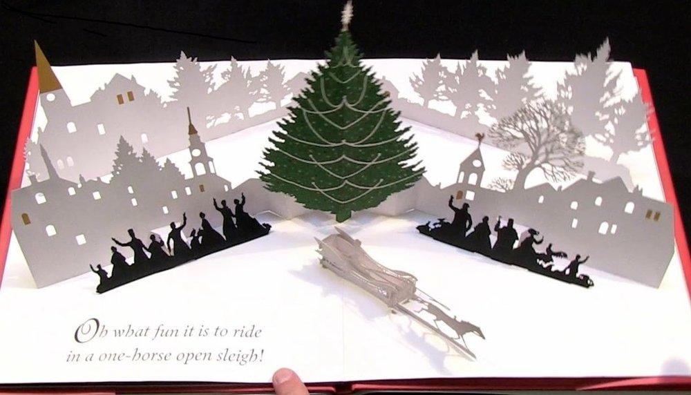 jingle bells cut paper edition