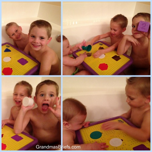 brothers tub time
