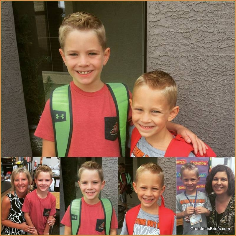brothers back to school