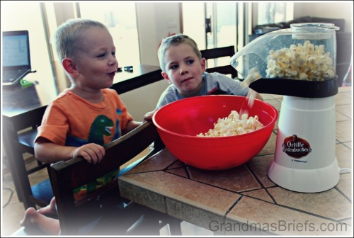 watching popcorn pop
