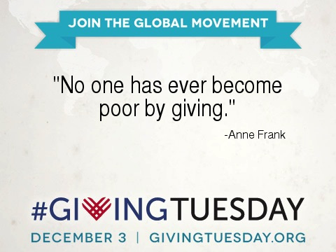 ann frank on giving