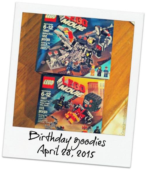 Lego birthday gift