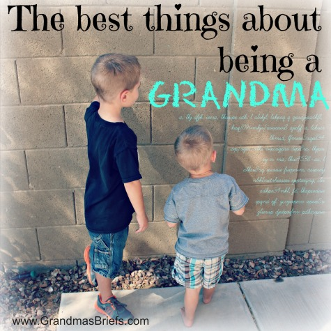 best things about being a grandma