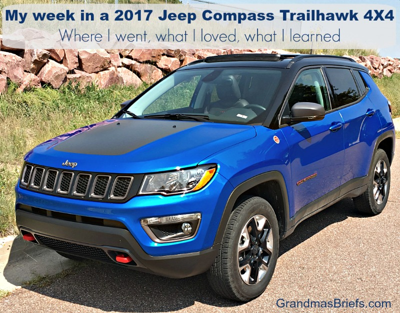 Jeep Compass Trailhawk test drive