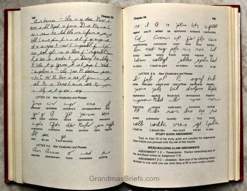 Forkner shorthand