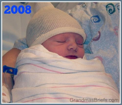 newborn grandson
