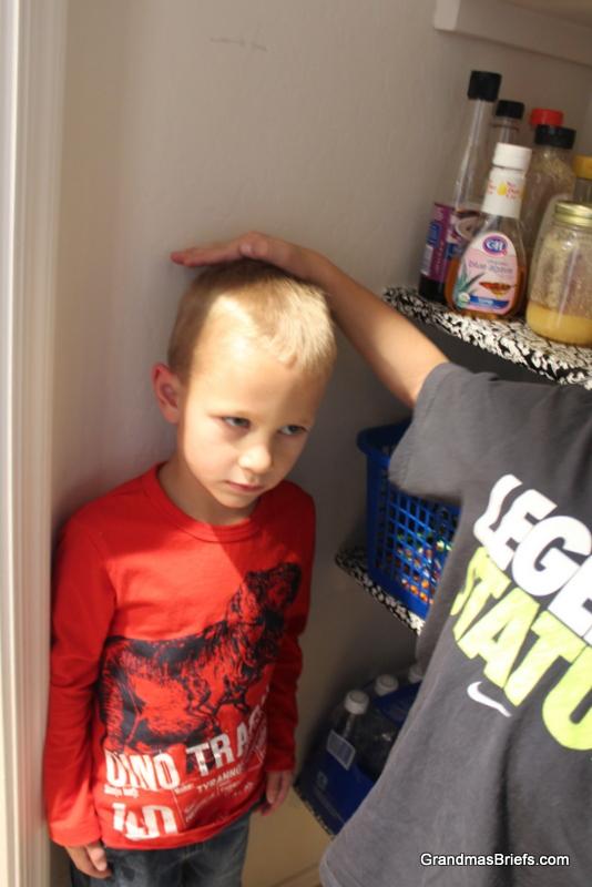 four-year-old boy