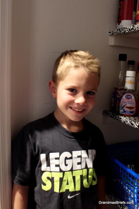 7-year-old boy