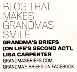 blog that makes grandmas smile