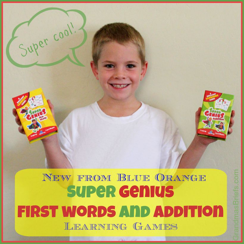 Super Genius learning games from Blue Orange