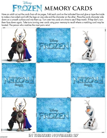 FROZEN activity