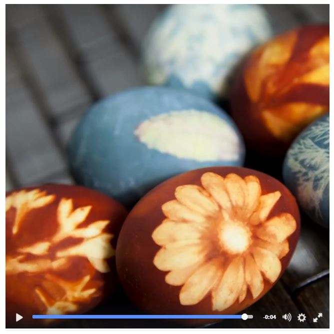easter egg video on Facebook