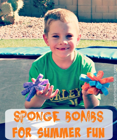 sponge bombs for summer fun