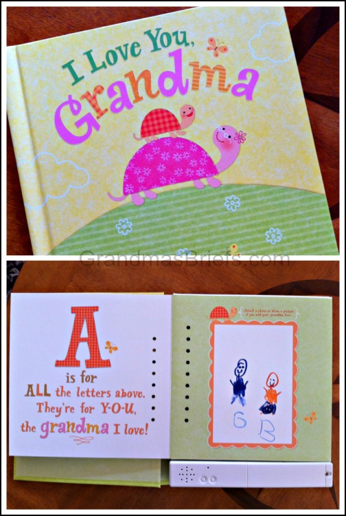 hallmark recordable book for grandma