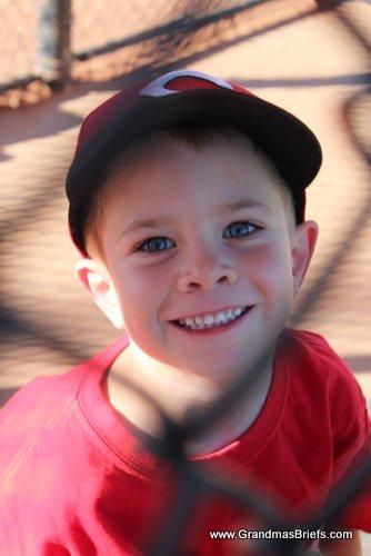 boy after batting