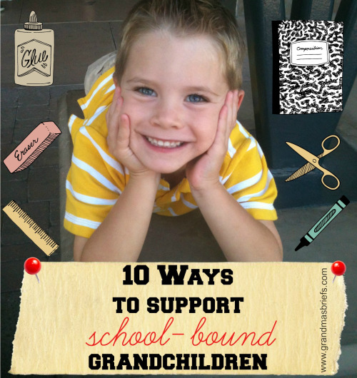 support grandchildren in school