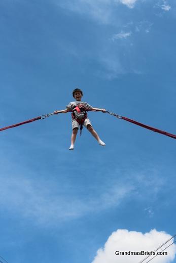 high flying boy