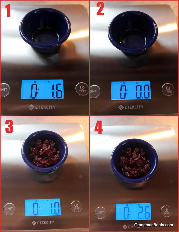 etekcity digital kitchen scale
