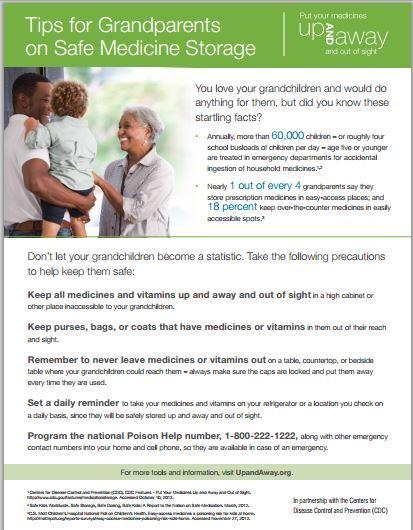 grandparents safety tip sheet