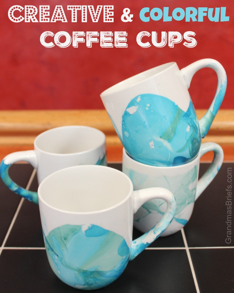 diy coffee cups