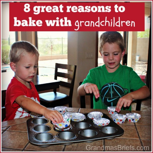 8 great reasons to bake with grandchildren