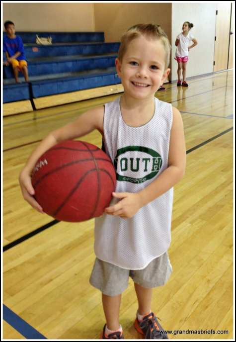 youth basketball player