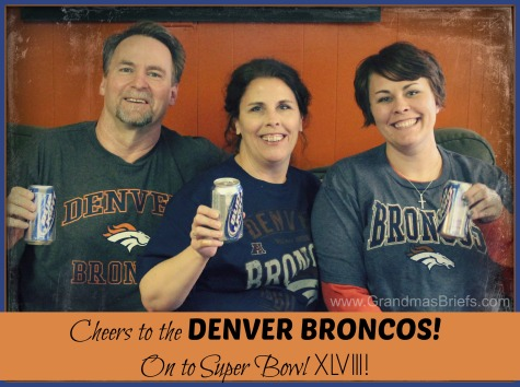 Cheers to The Broncos!