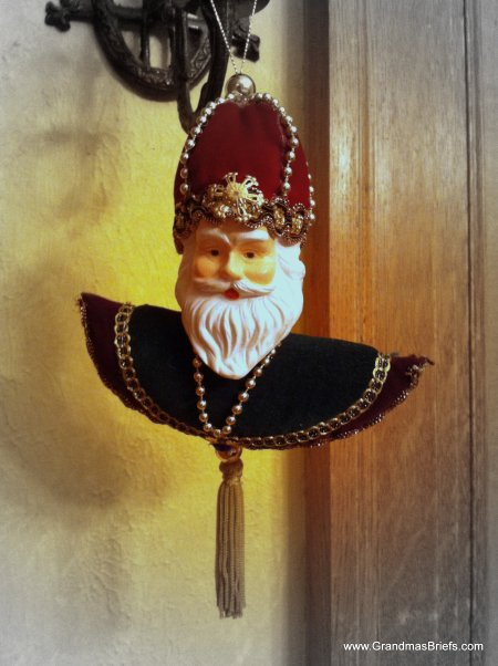 Russian Santa ornament