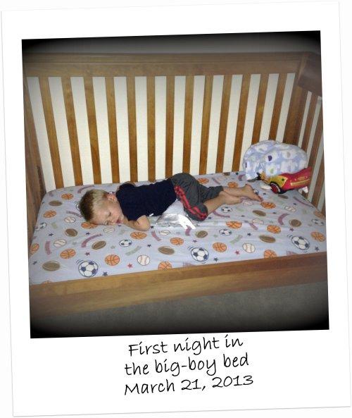 converted crib