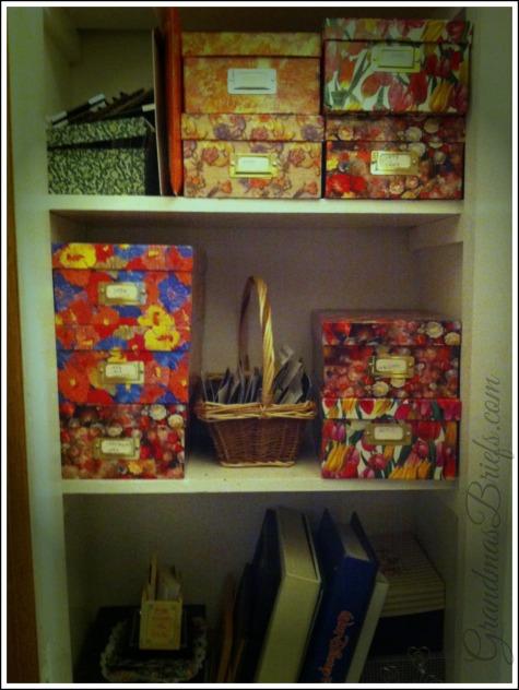 photo storage closet