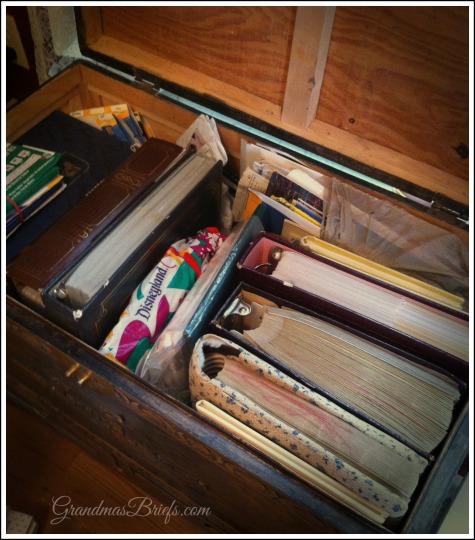trunk of photos