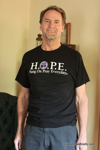 hope in a box tee shirt