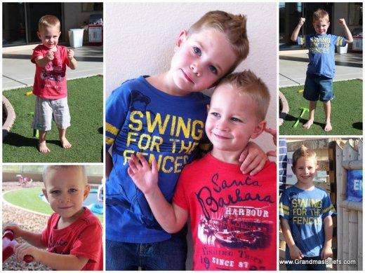 adorable grandsons