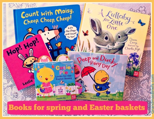 books for spring and easter
