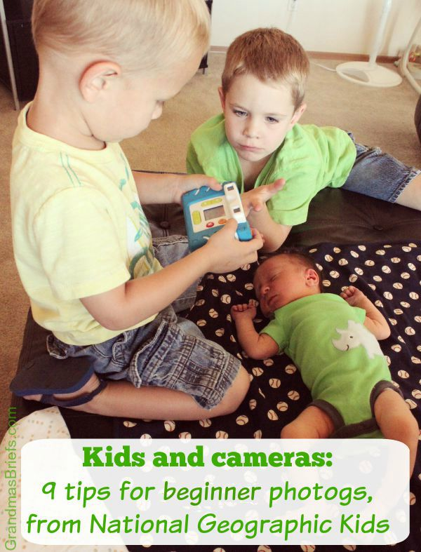 kids and cameras