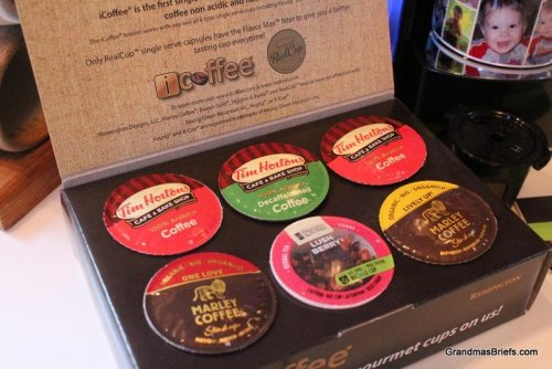 iCoffee Opus coffee samples