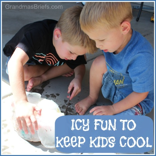 icy fun to keep kids cool