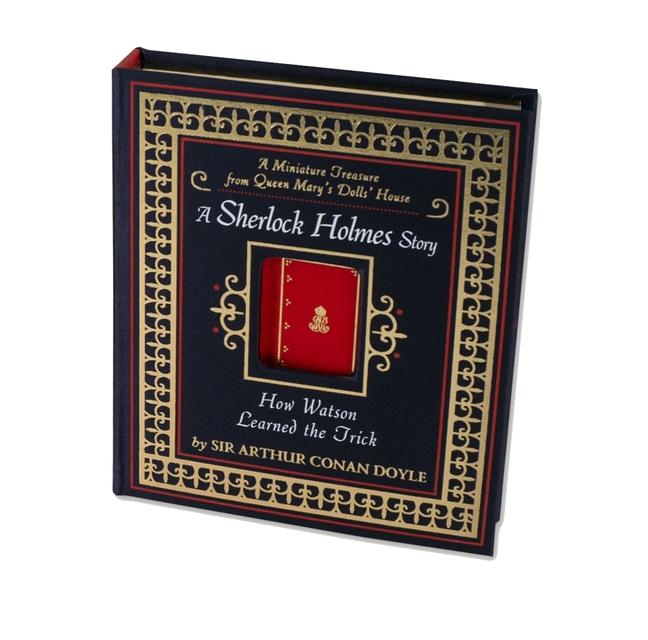 sherlock holmes miniature dollhouse book