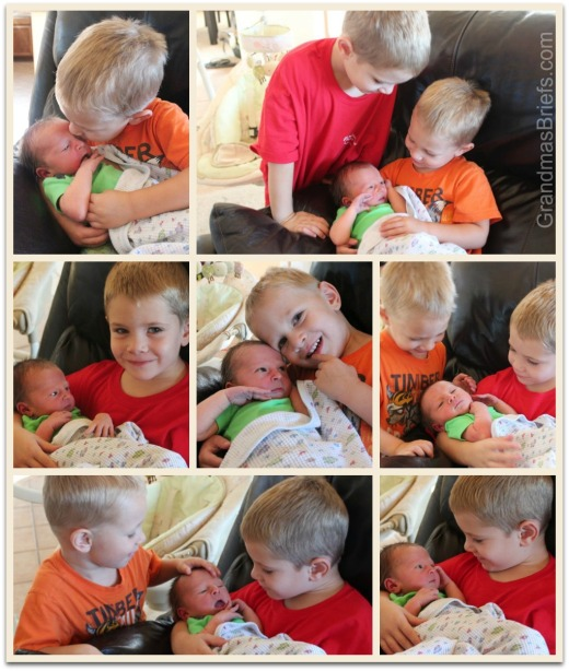 brothers meet baby brother