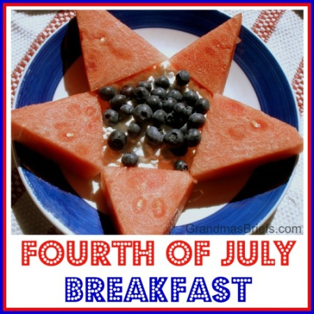 fourth of july breakfast