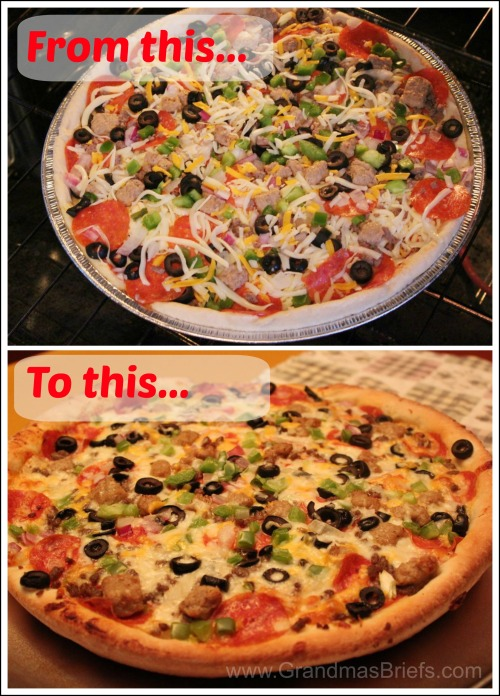 Papa Murphy's Fresh Pan pizza