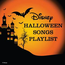 disney halloween music