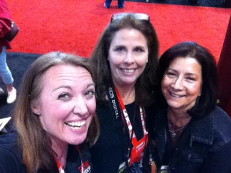 selfie with Jen Reeves AARP