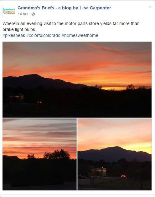pikes peak sunset life reimagined