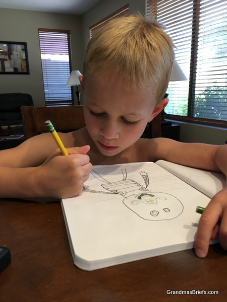 six year old artist