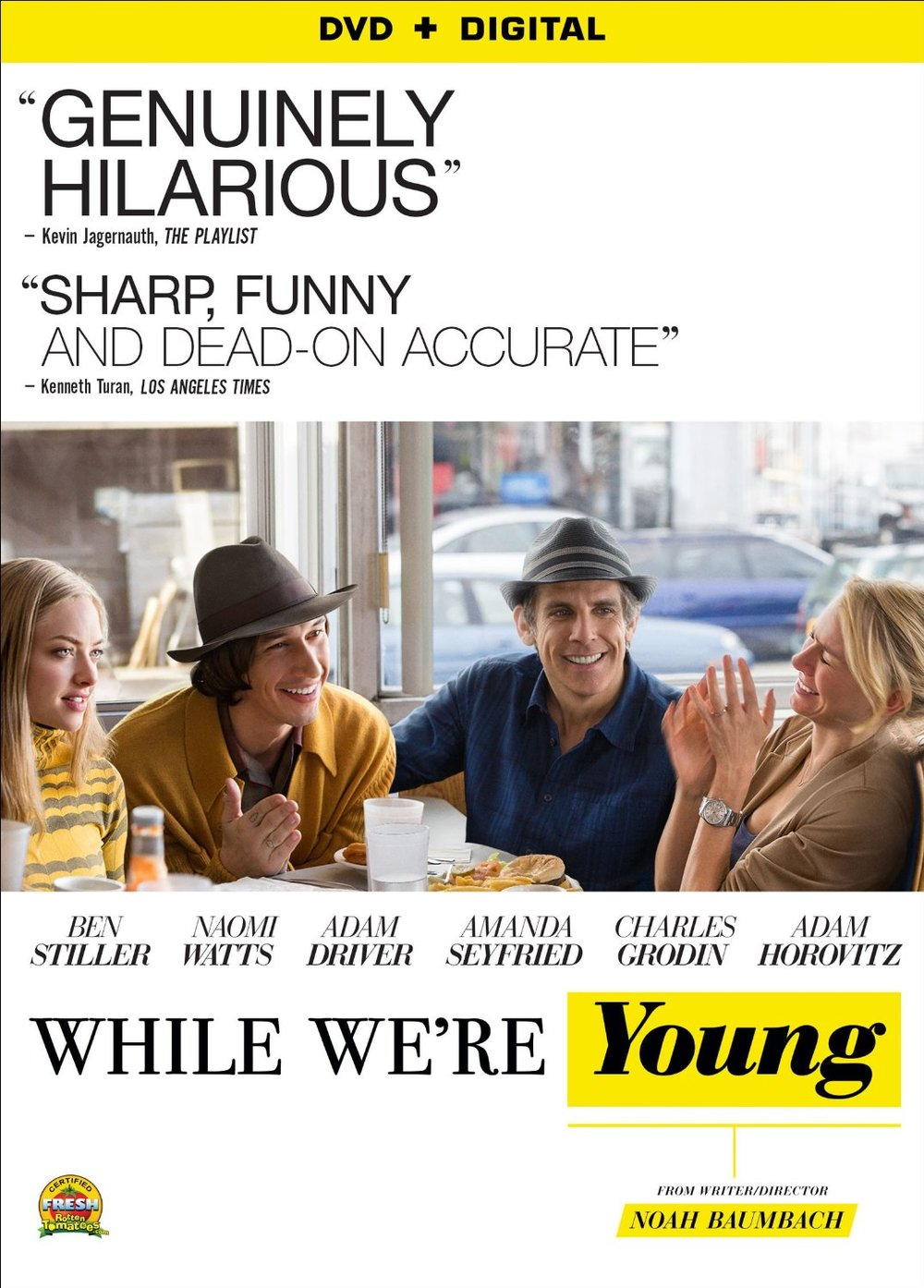 While We're Young comedy