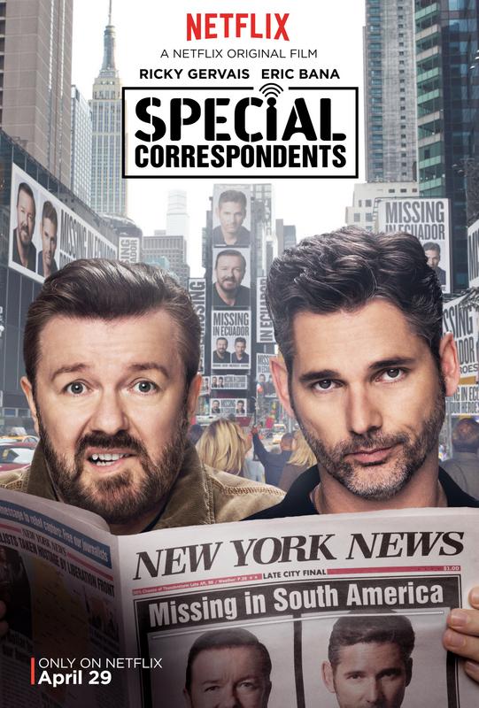 special correspondents netflix film